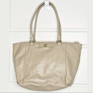 Kate Spade leather bow tote